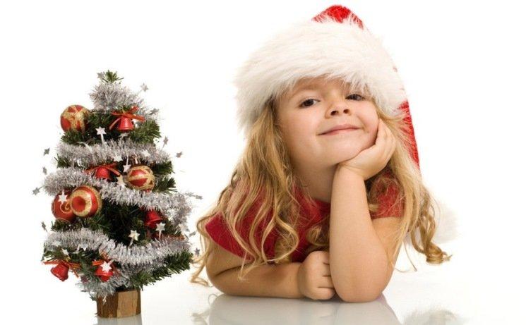Детская поделка на новый год