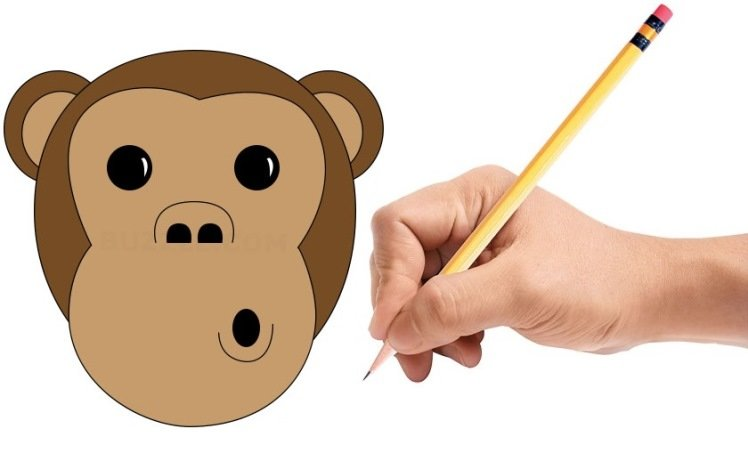 Как нарисовать обезьяну?