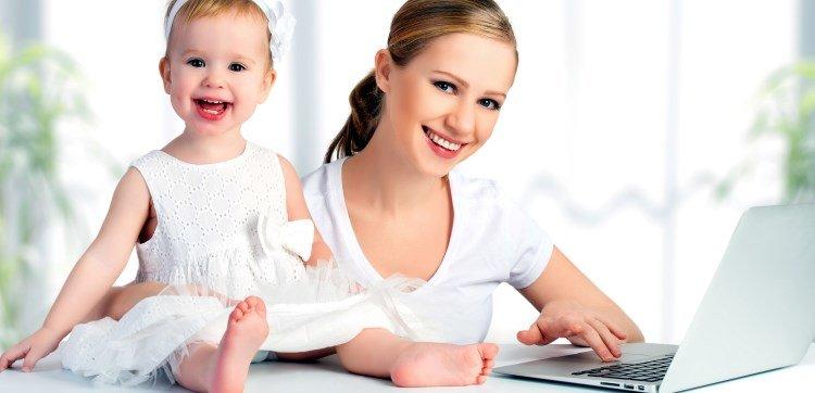 Работа матерям в декрете