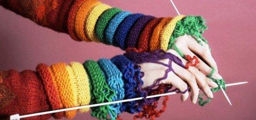 Схемы вязания на спицах для начинающих